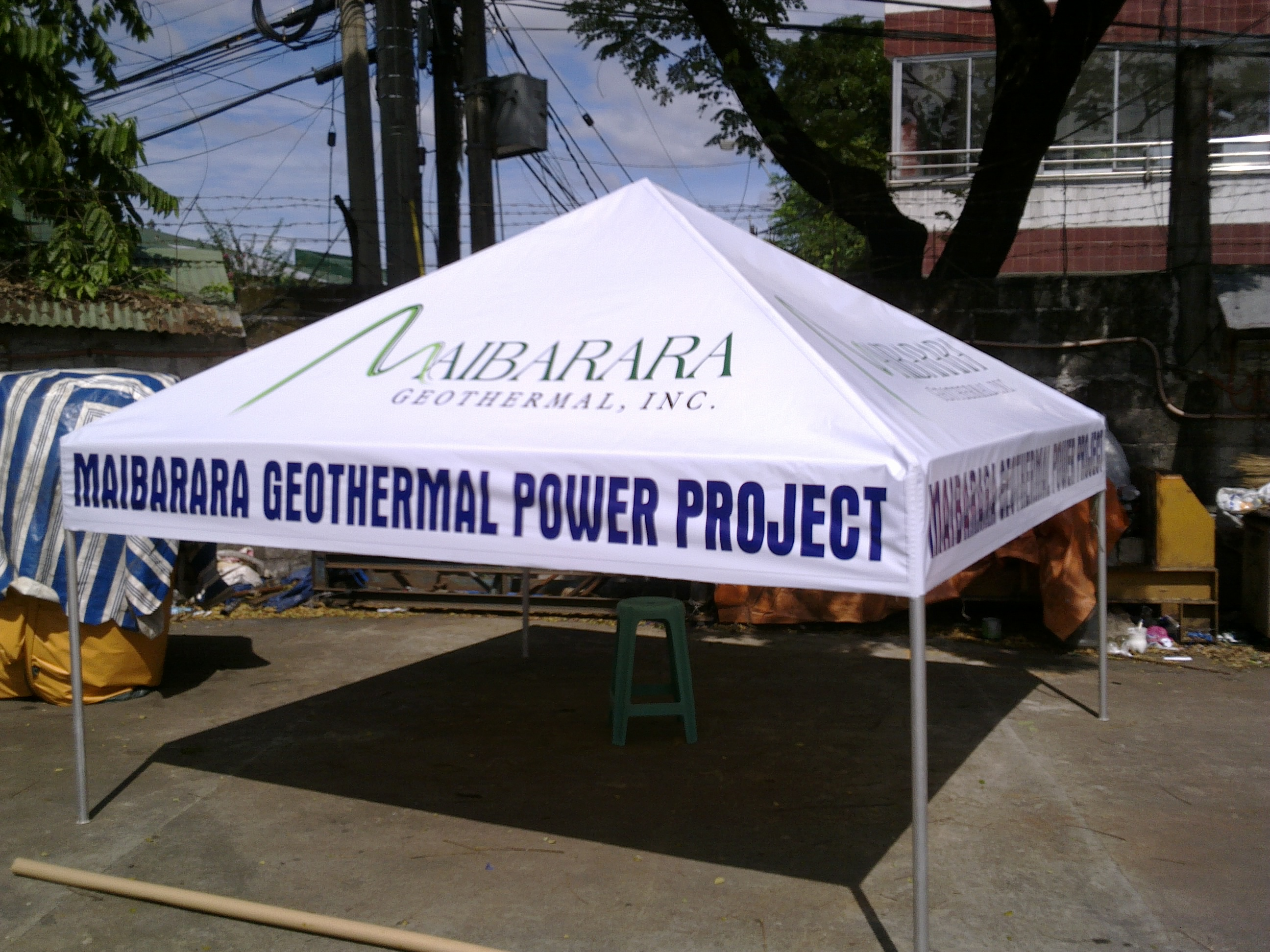 Garage Tent Cover Front & Tents u2013 Fabrimetrics Philippines Inc.
