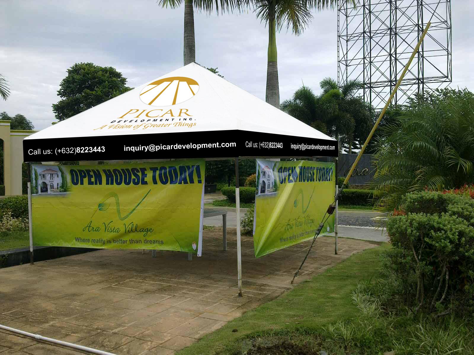 Garage Tent Cover Front & Tents u2013 Fabrimetrics Philippines Inc.